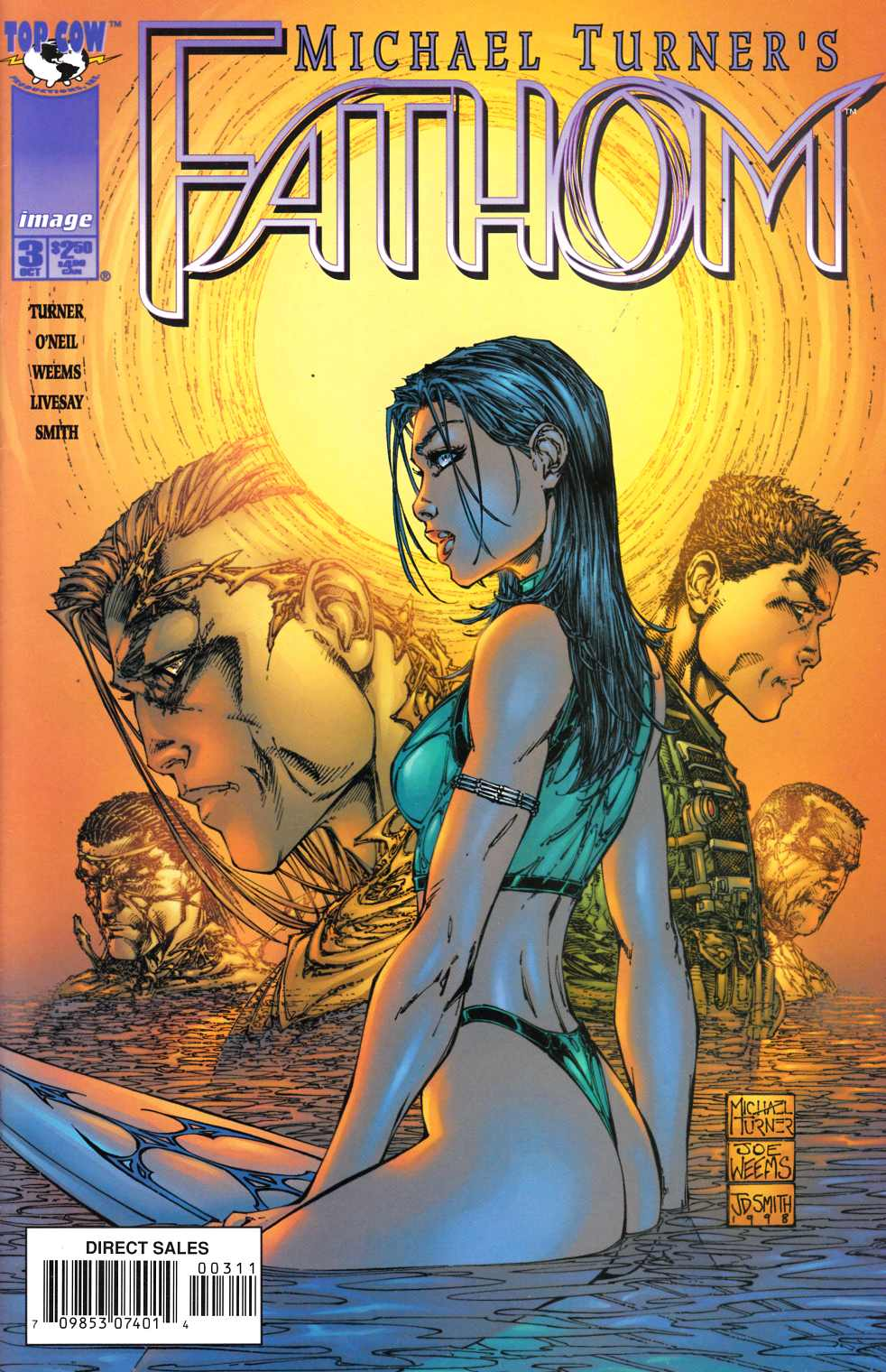 Fathom #3 Near Mint (9.4) [Image Comic] THUMBNAIL