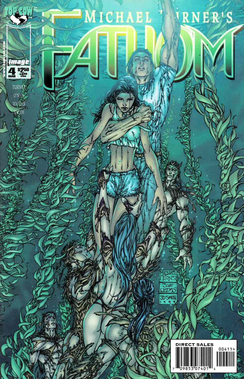 Fathom #4 Cover A Near Mint (9.4) [Image Comic] THUMBNAIL