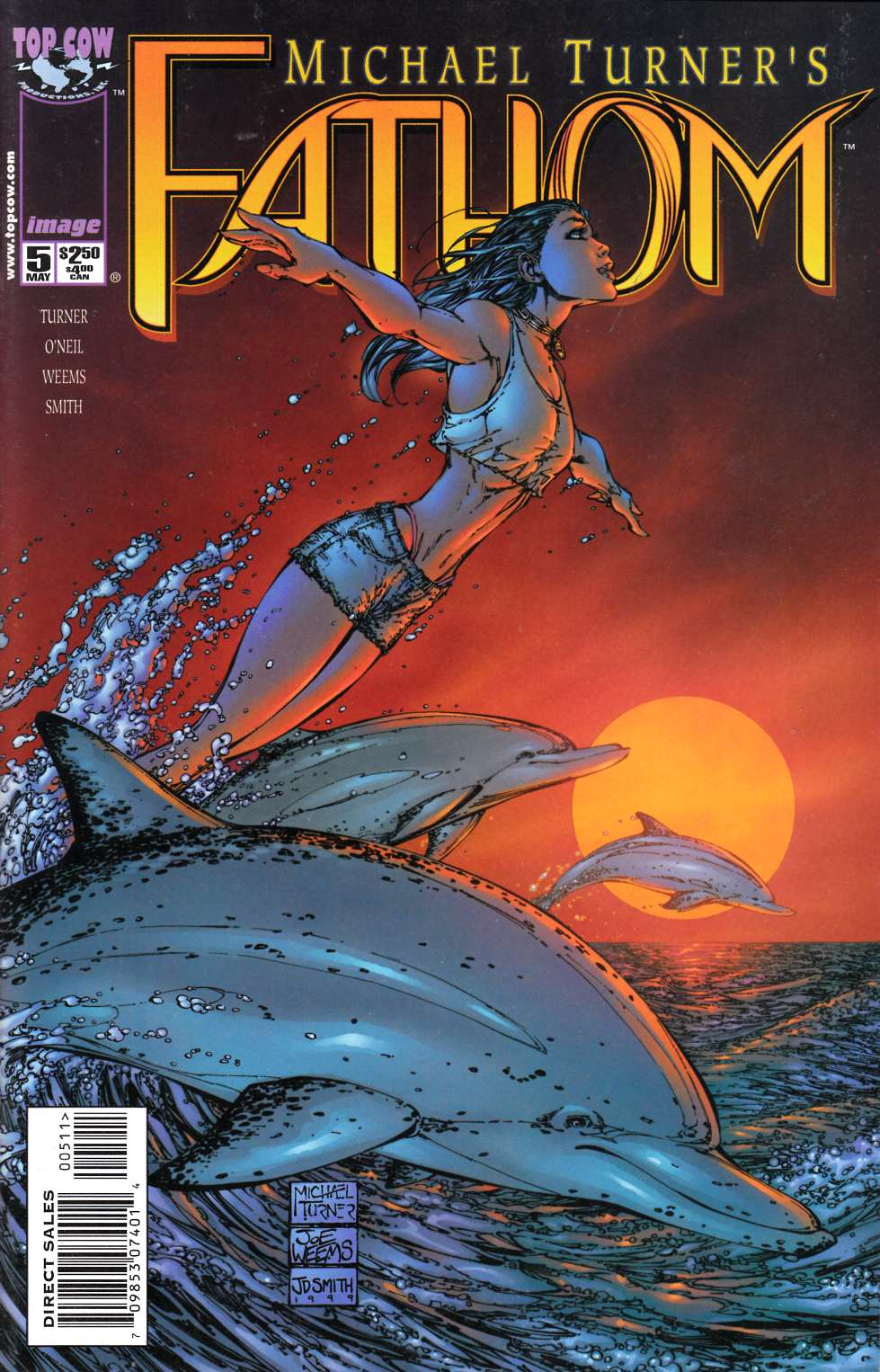 Fathom #5 Near Mint (9.4) [Image Comic] THUMBNAIL