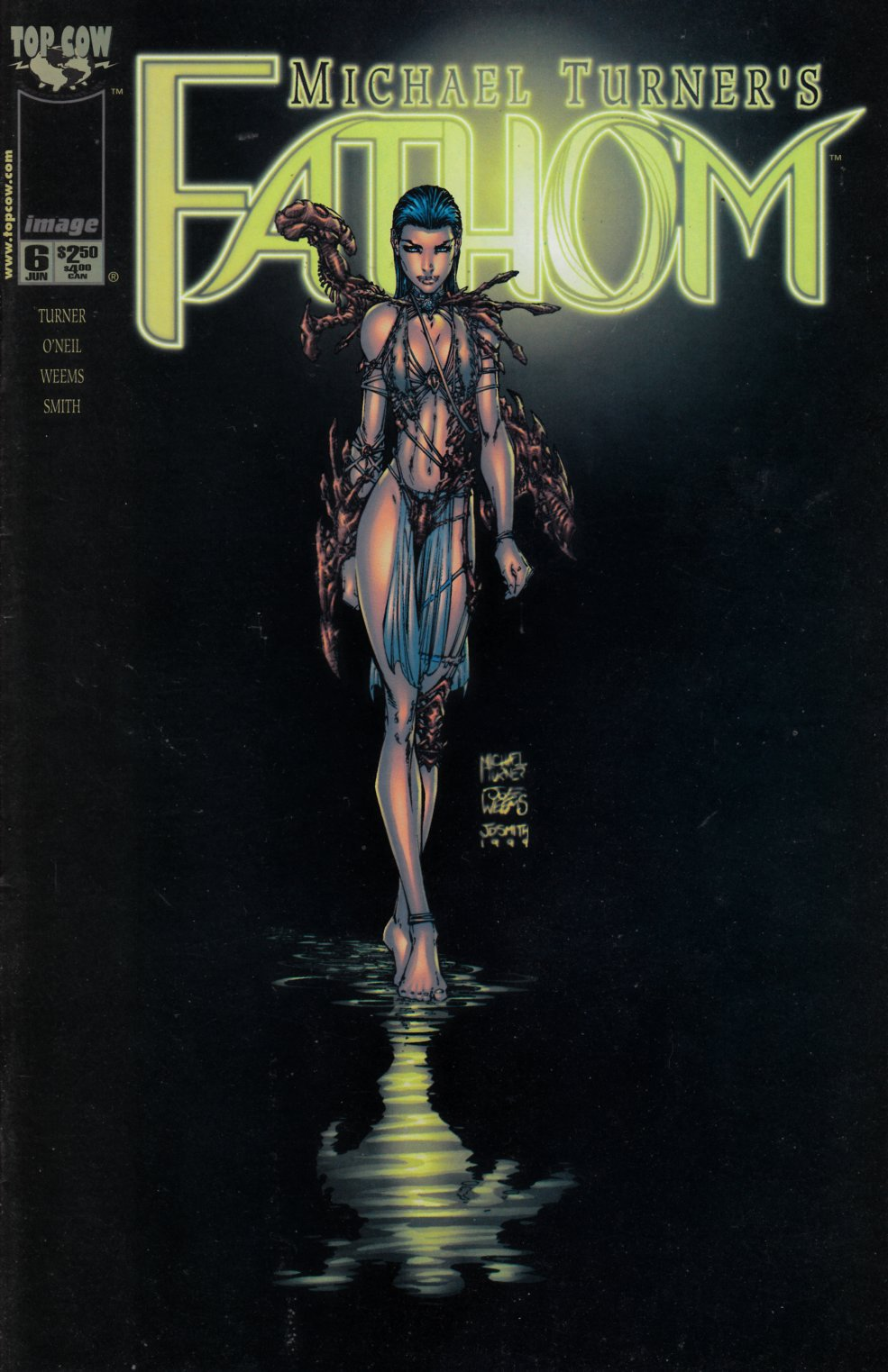 Fathom #6 Very Fine (8.0) [Image Comic] THUMBNAIL