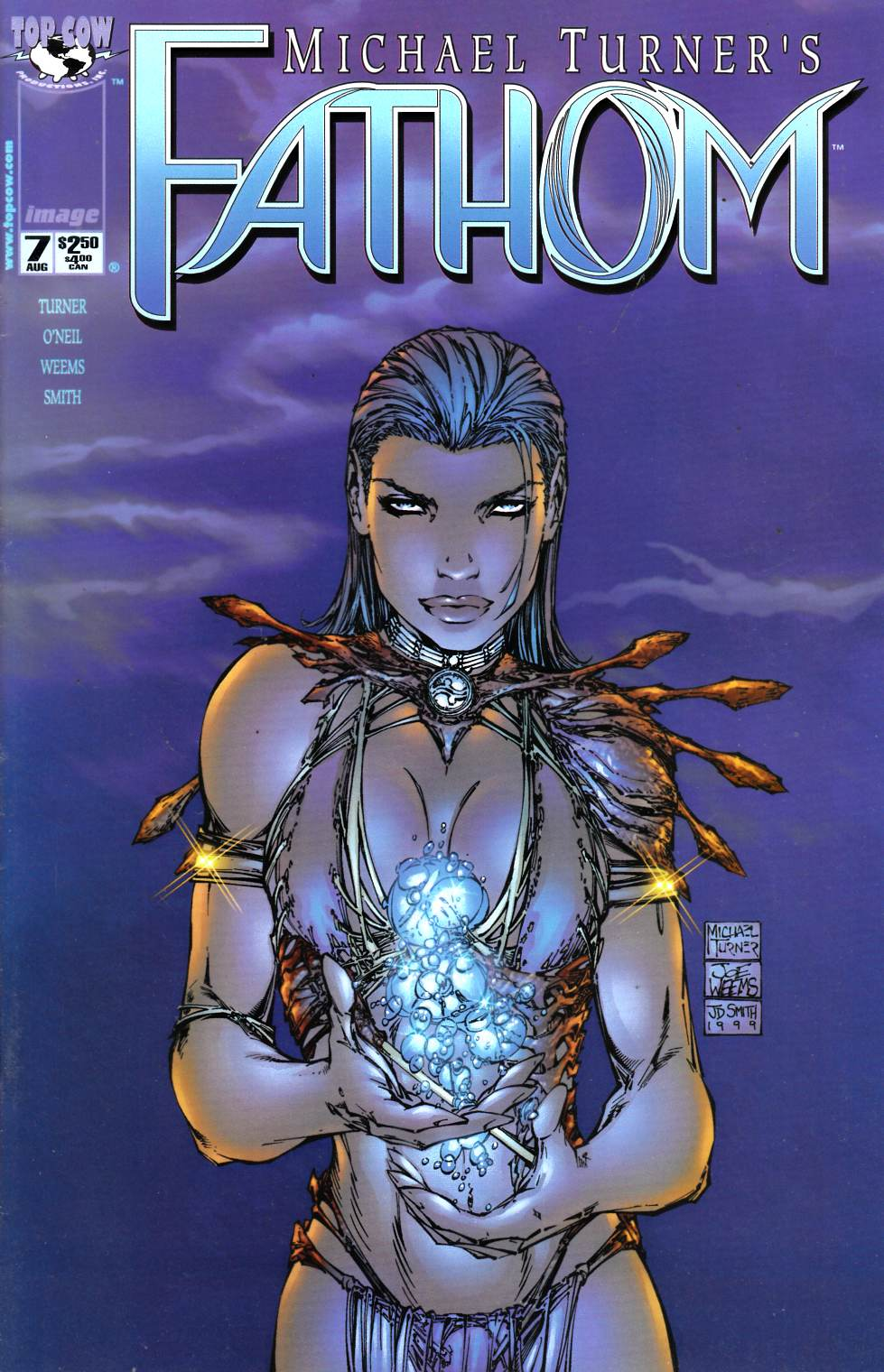 Fathom #7 Near Mint (9.4) [Image Comic] LARGE