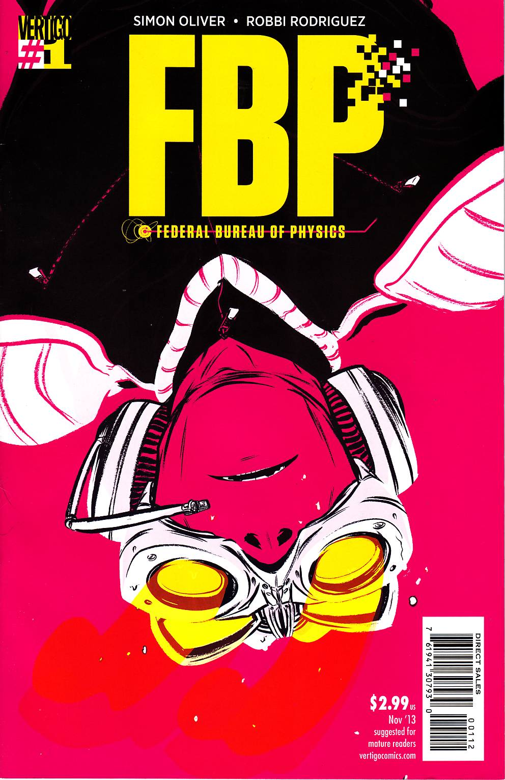 FBP Federal Bureau of Physics #1 (Collider) Second Printing [DC Comic] THUMBNAIL
