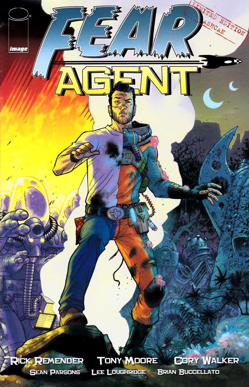 Fear Agent Ashcan (One Shot) Fine (6.0) [Image Comic] THUMBNAIL