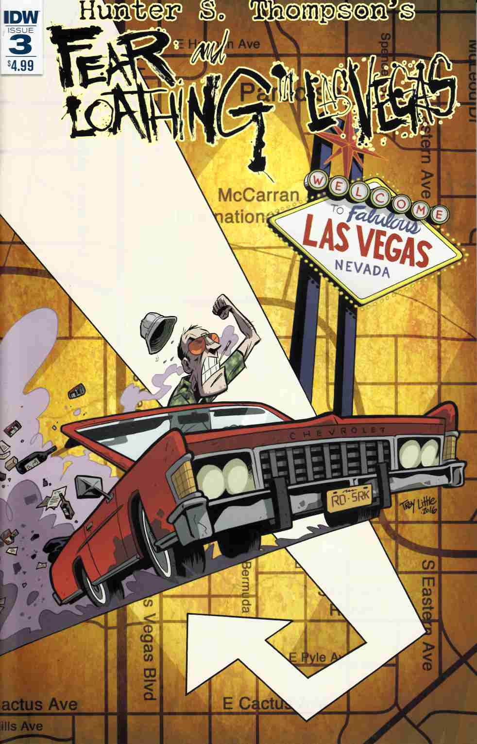 Fear & Loathing in Las Vegas #3 [IDW Comic]