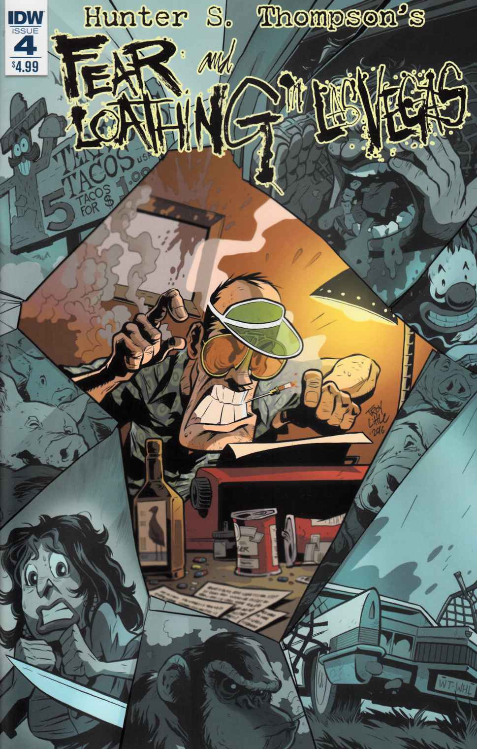 Fear & Loathing in Las Vegas #4 [IDW Comic]