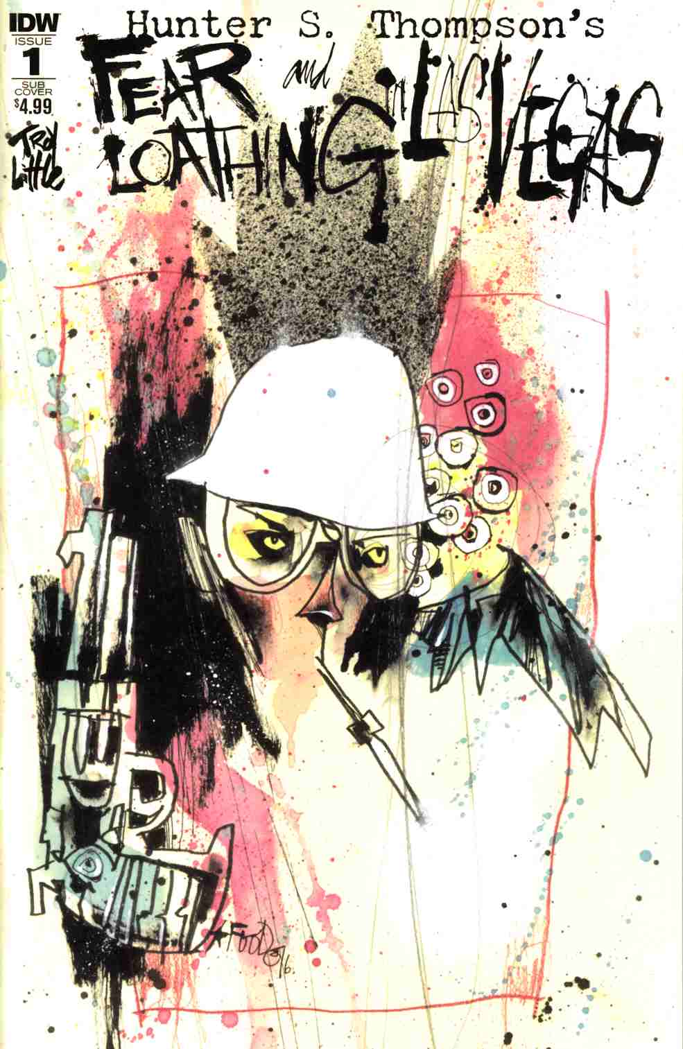Fear & Loathing in Las Vegas #1 Subscription Cover [IDW Comic]