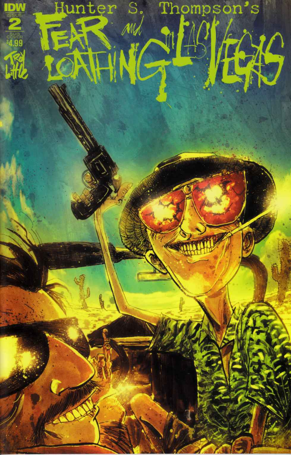 Fear & Loathing in Las Vegas #2 Subscription Cover [IDW Comic]
