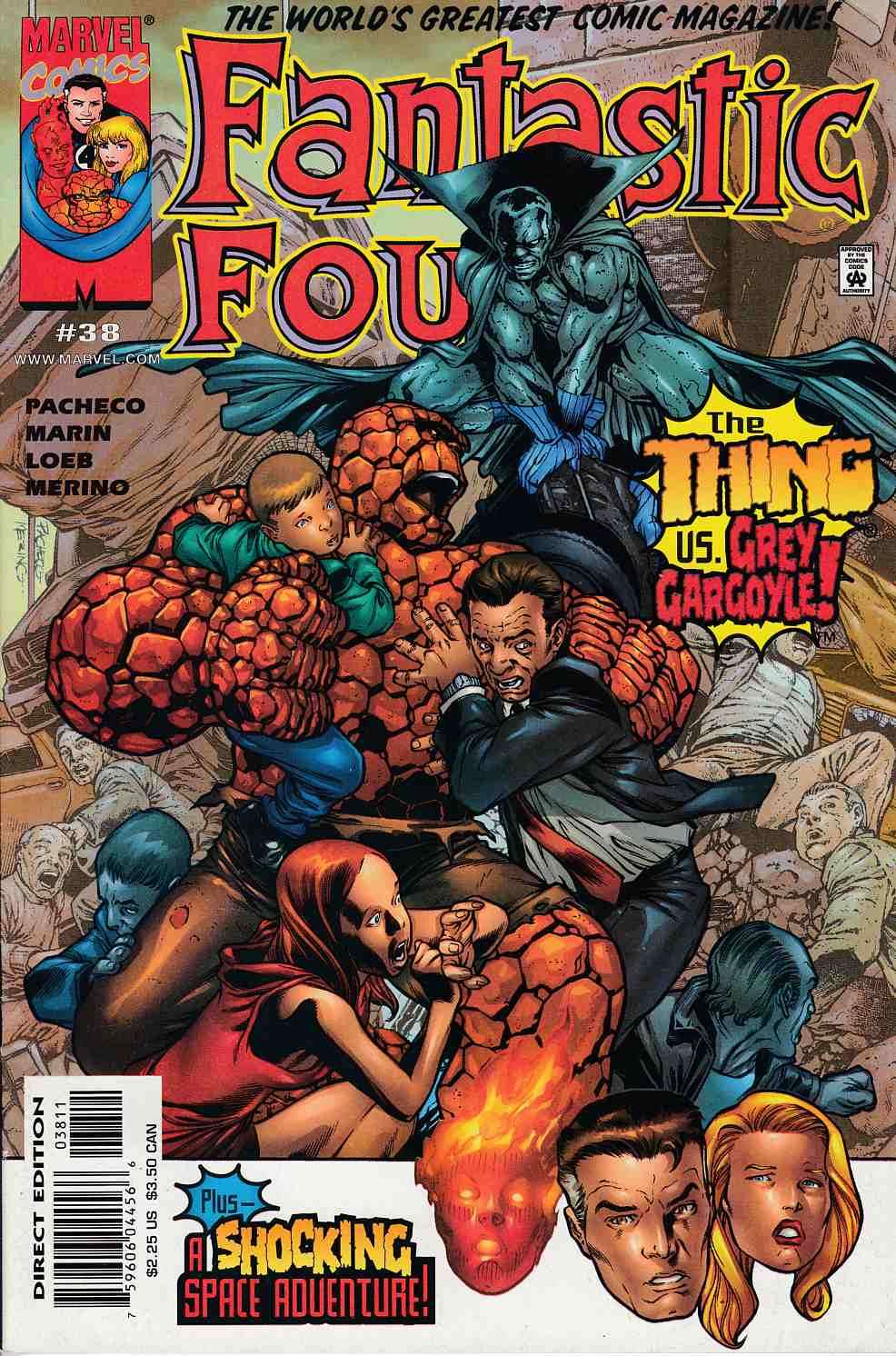 Fantastic Four #38 Near Mint (9.4) [Marvel Comic] LARGE