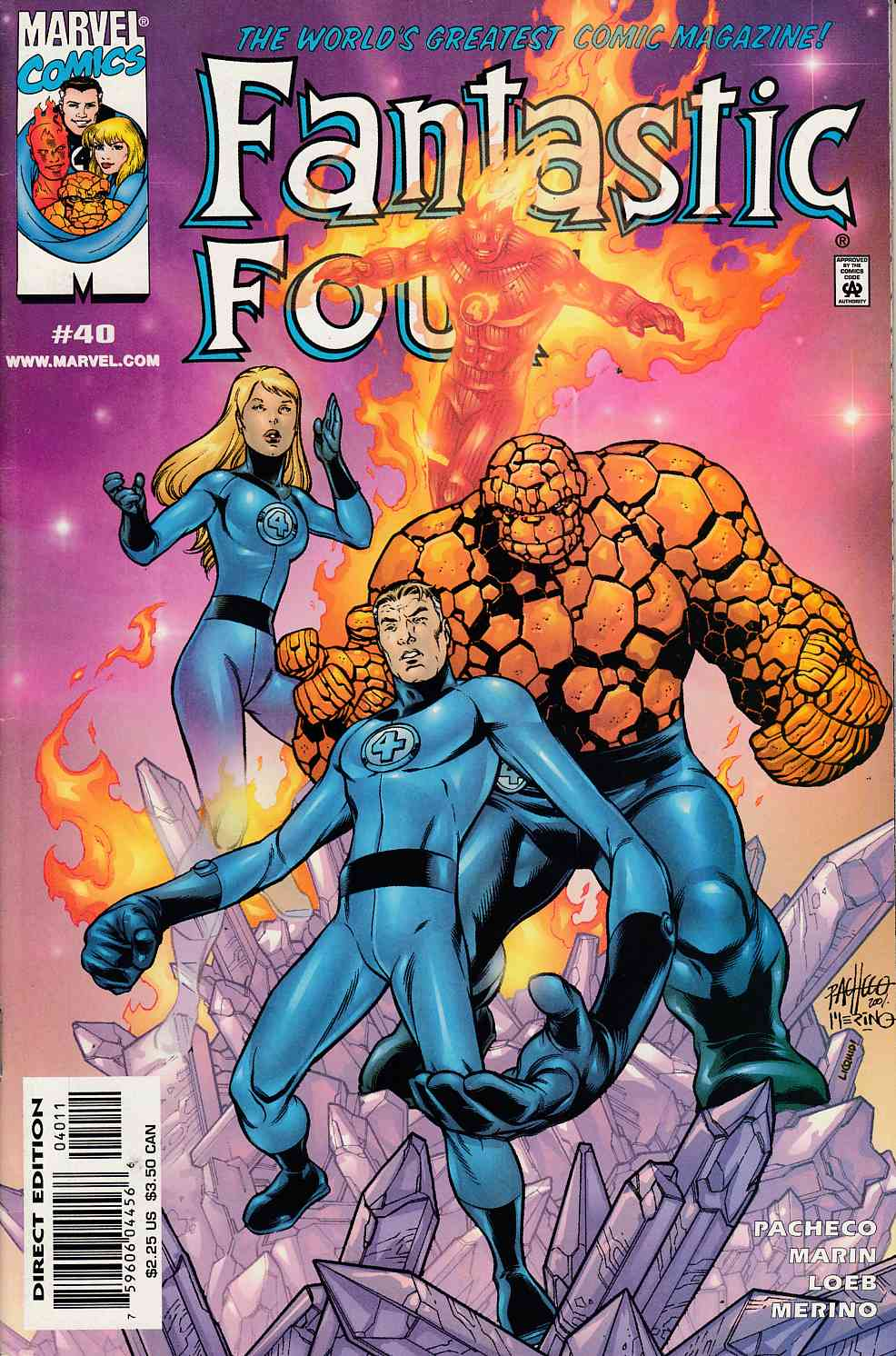 Fantastic Four #40 Near Mint Minus (9.2) [Marvel Comic] LARGE