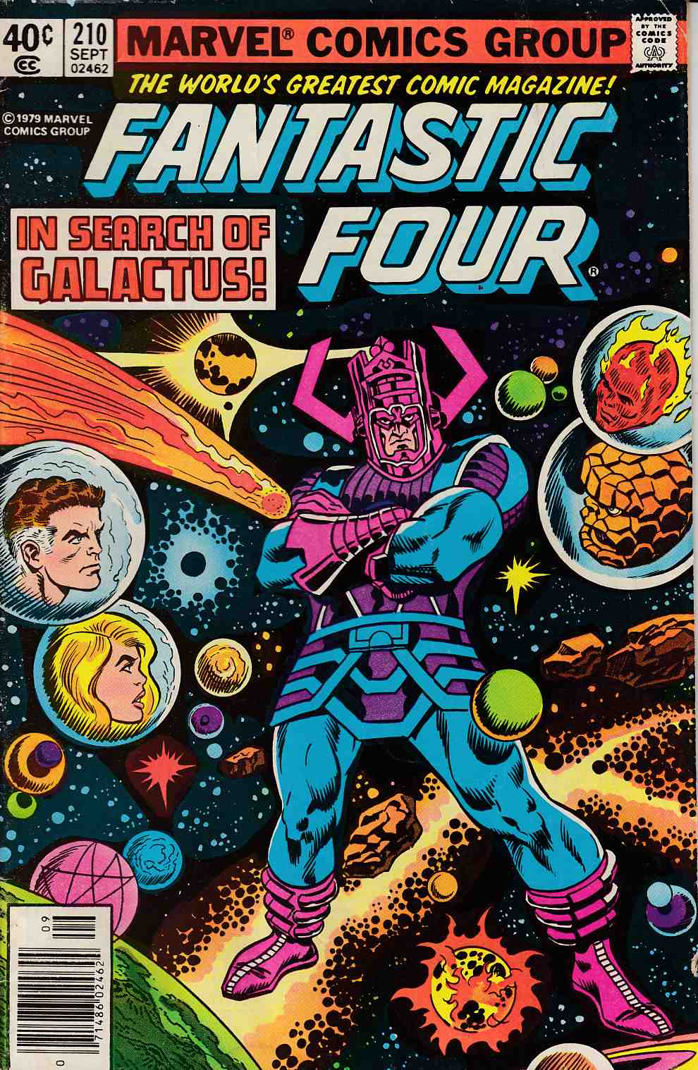 Fantastic Four #210 Newsstand Edition Very Good (4.0) [Marvel Comic] LARGE
