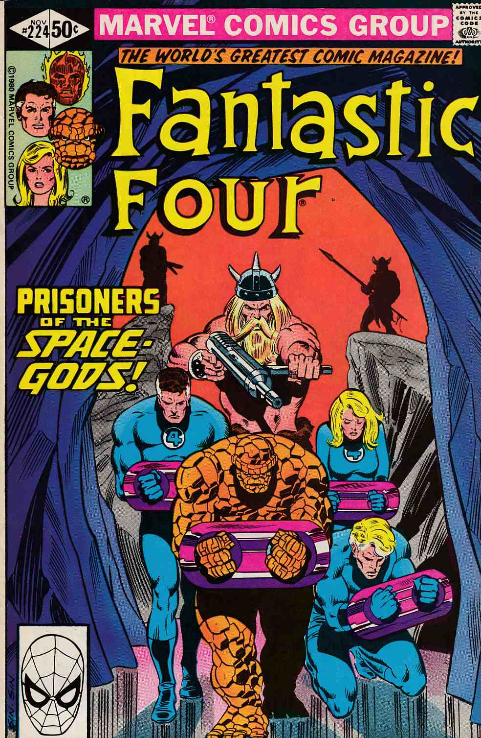 Fantastic Four #224 Very Fine (8.0) [Marvel Comic] LARGE