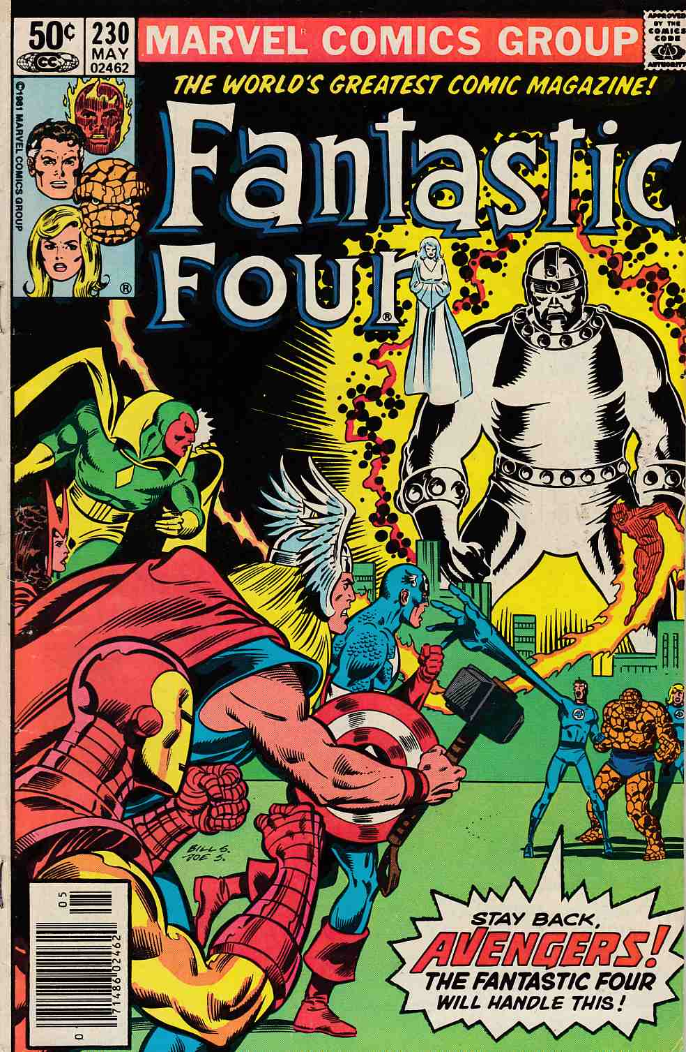 Fantastic Four #230 Newsstand Edition Very Good (4.0) [Marvel Comic] LARGE