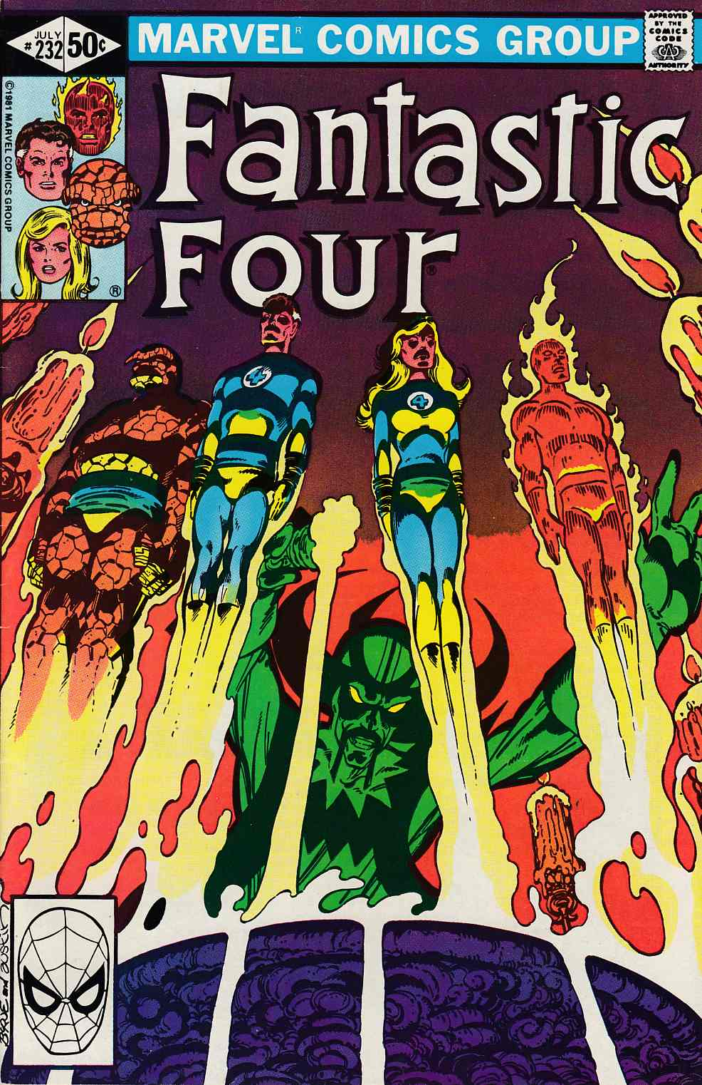 Fantastic Four #232 Very Fine (8.0) [Marvel Comic] LARGE
