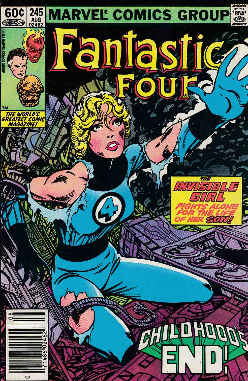 Fantastic Four #245 Newstand Edition Fine (6.0) [Marvel Comic] LARGE