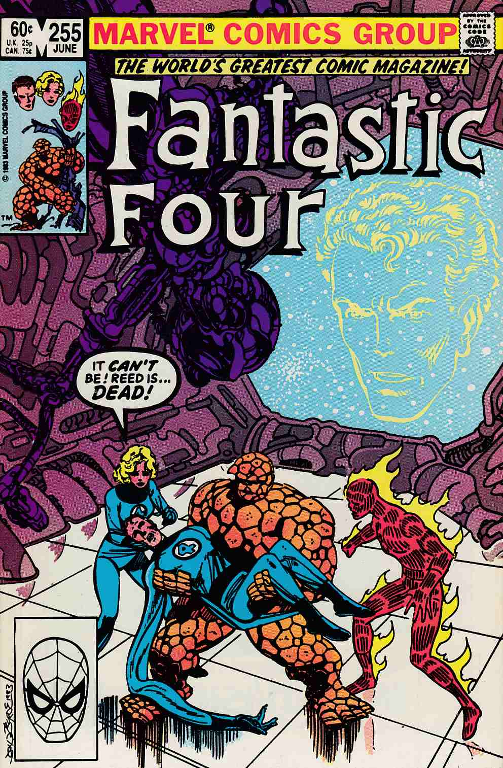 Fantastic Four #255 Very Fine (8.0) [Marvel Comic] LARGE