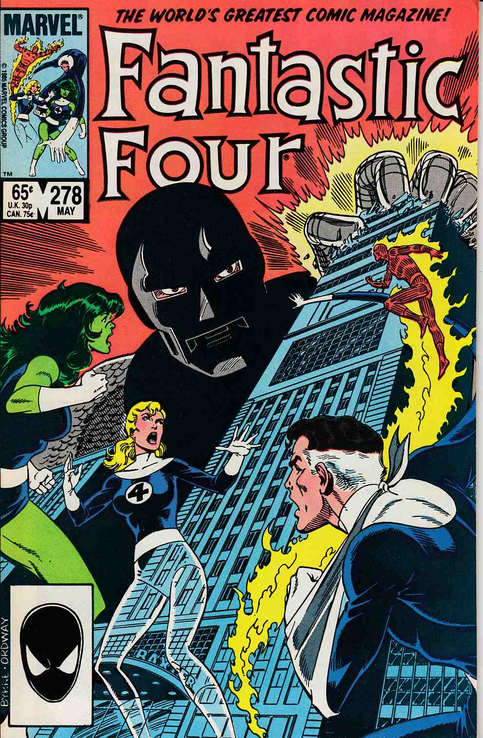 Fantastic Four #278 Very Fine (8.0) [Marvel Comic] LARGE