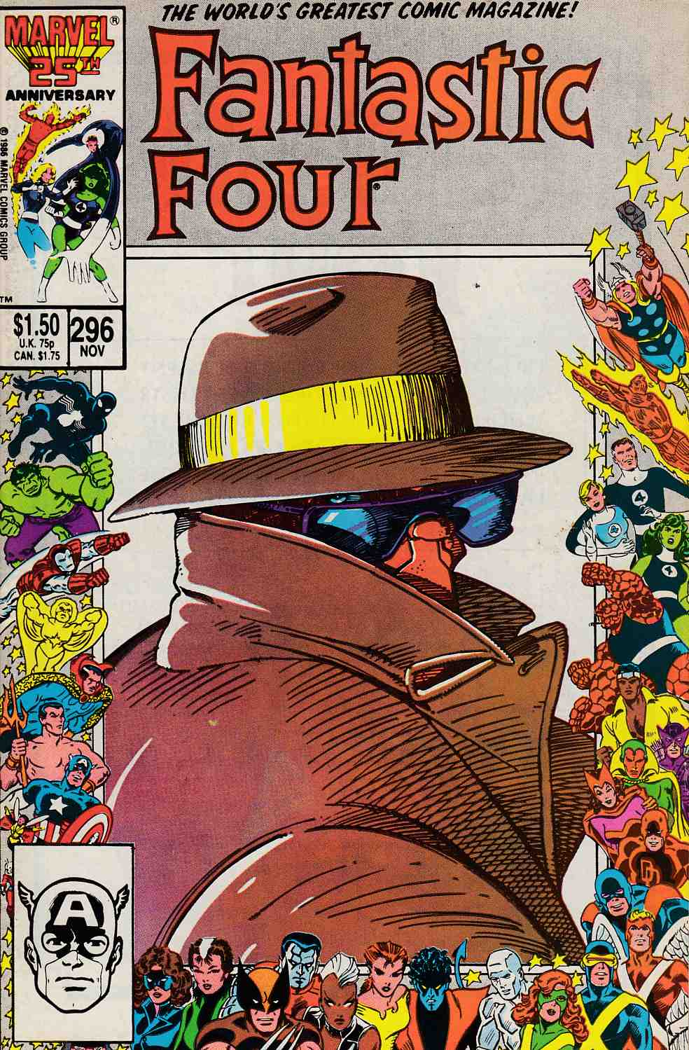Fantastic Four #296 Very Fine (8.0) [Marvel Comic] LARGE