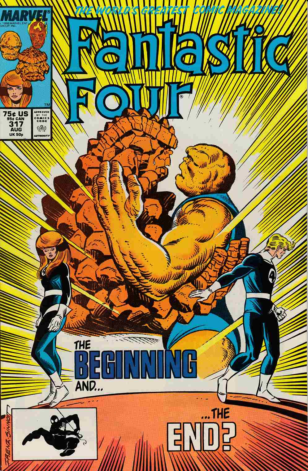 Fantastic Four #317 Very Fine Plus (8.5) [Marvel Comic] LARGE