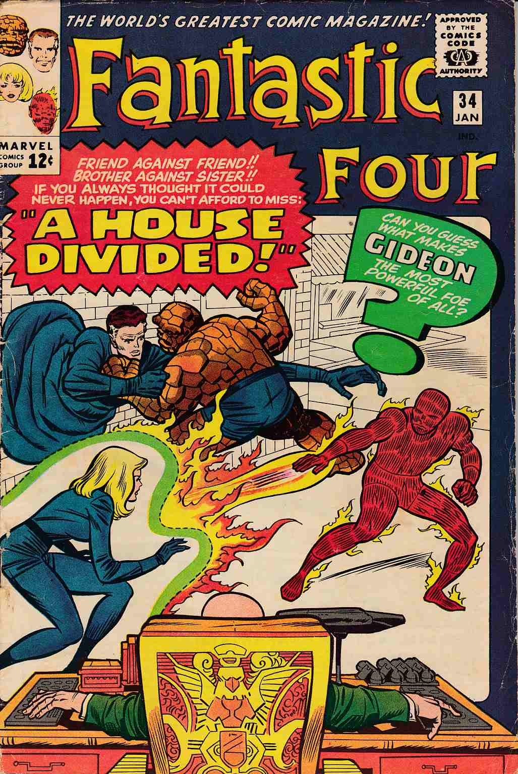 Fantastic Four #34 Very Good/Fine (5.0) [Marvel Comic]