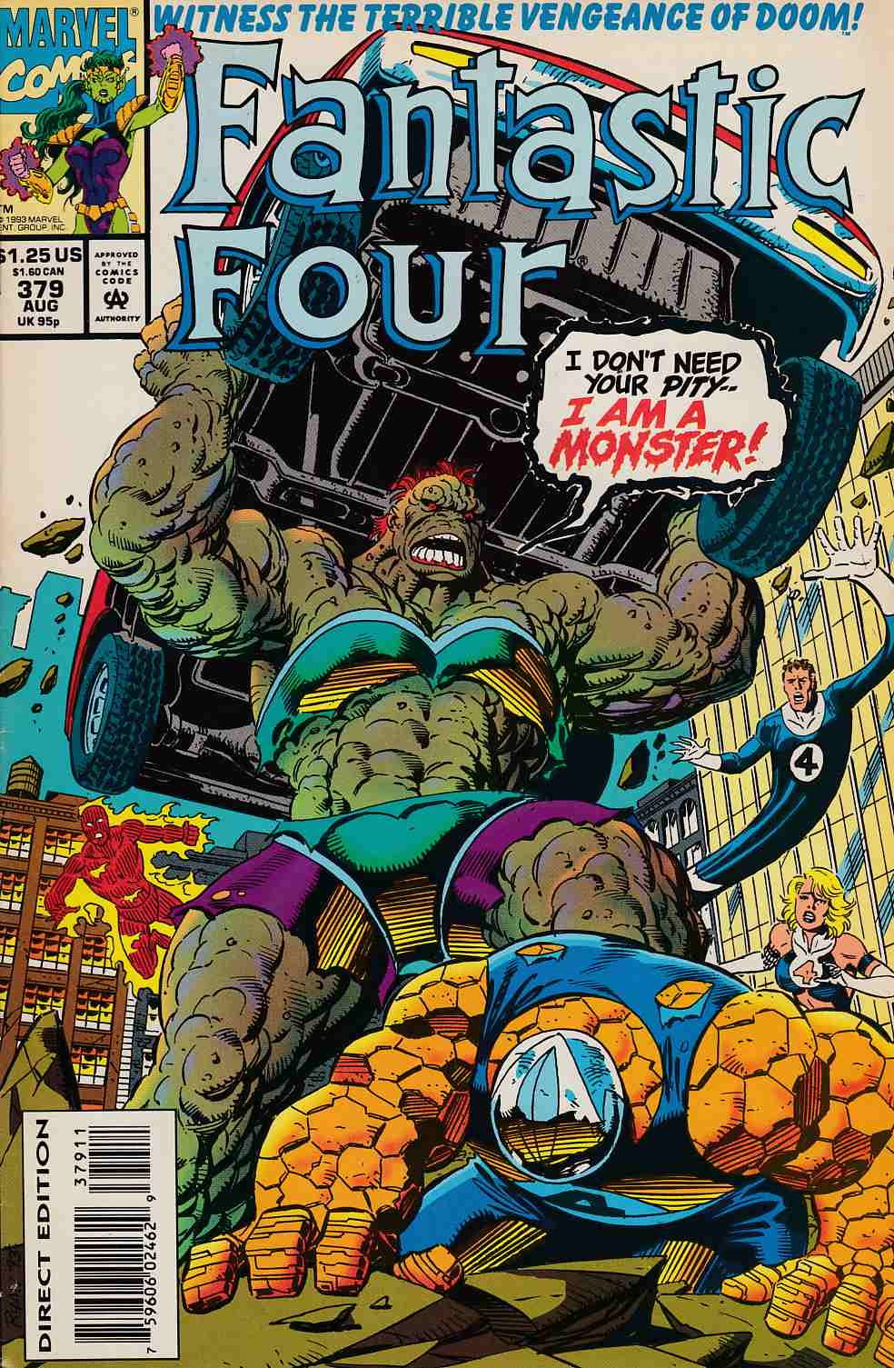 Fantastic Four #379 Very Fine (8.0) [Marvel Comic] LARGE