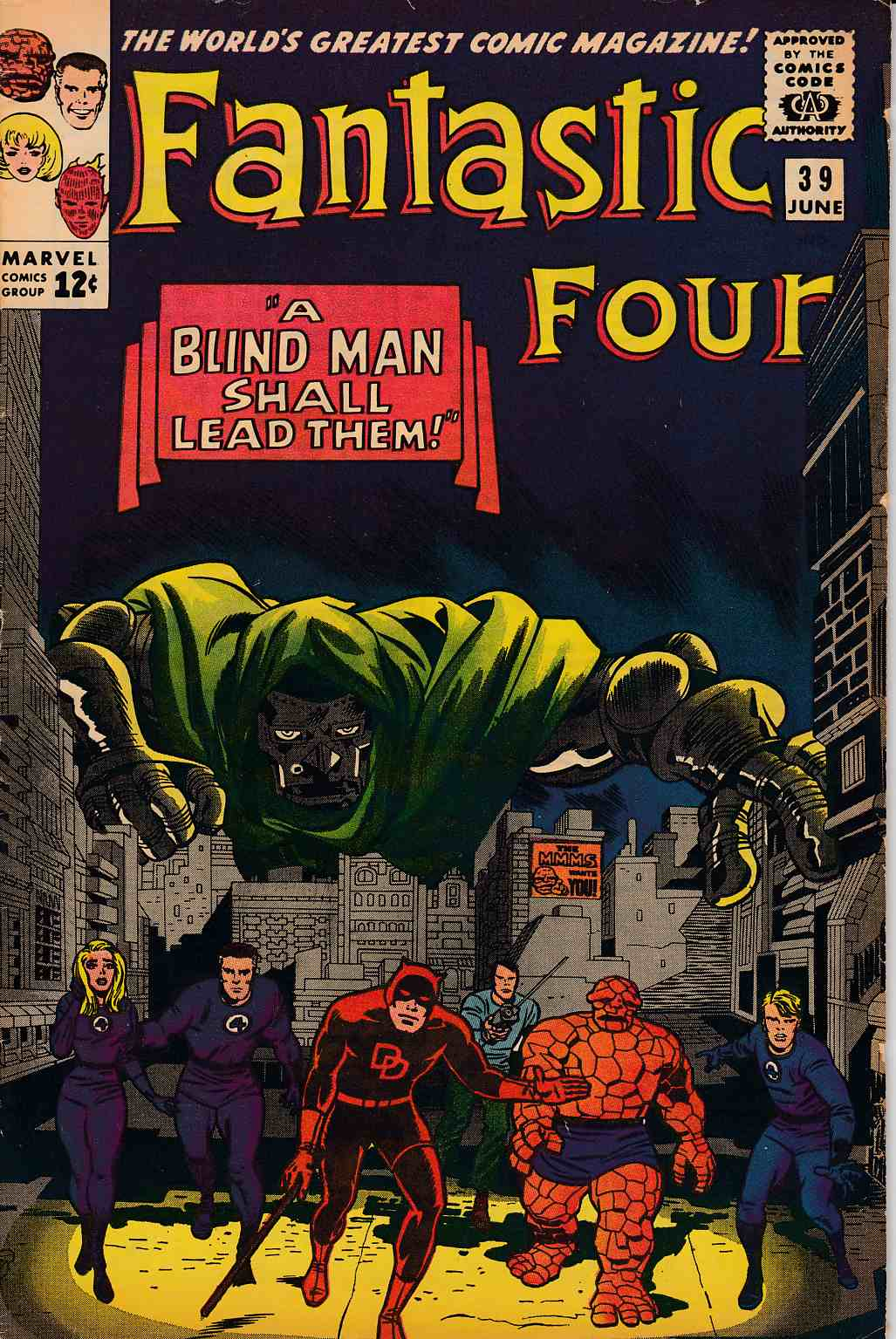 Fantastic Four #39 Very Good/Fine (5.0) [Marvel Comic]