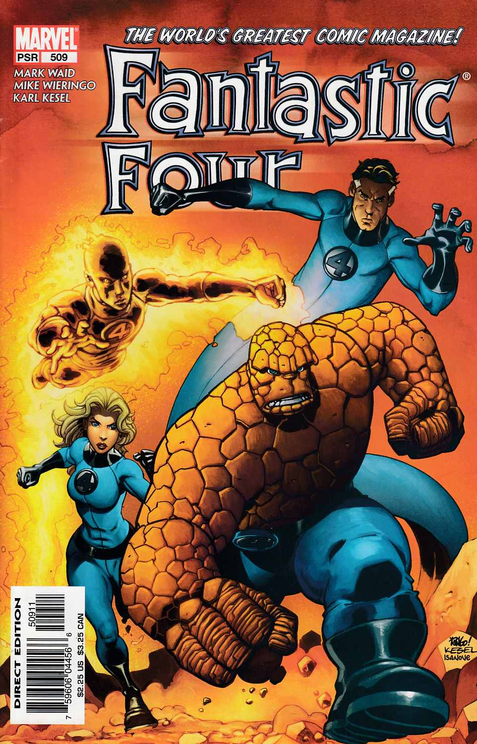 Fantastic Four #509 Very Fine (8.0) [Marvel Comic] LARGE