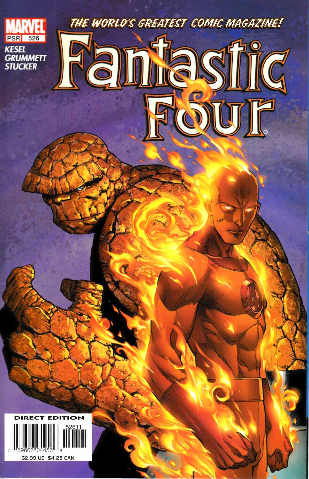 Fantastic Four #526 Very Fine Minus (7.5) [Marvel Comic] LARGE
