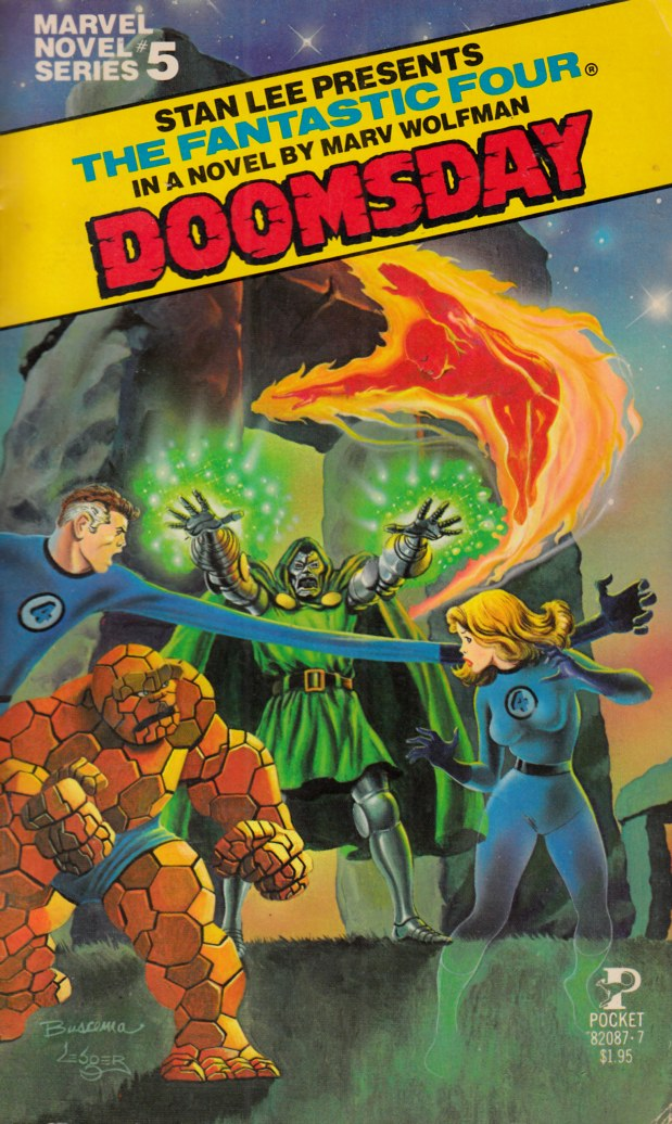 Fantastic Four Doomsday Novel PB Fine (6.0) [Marvel Softcover] THUMBNAIL