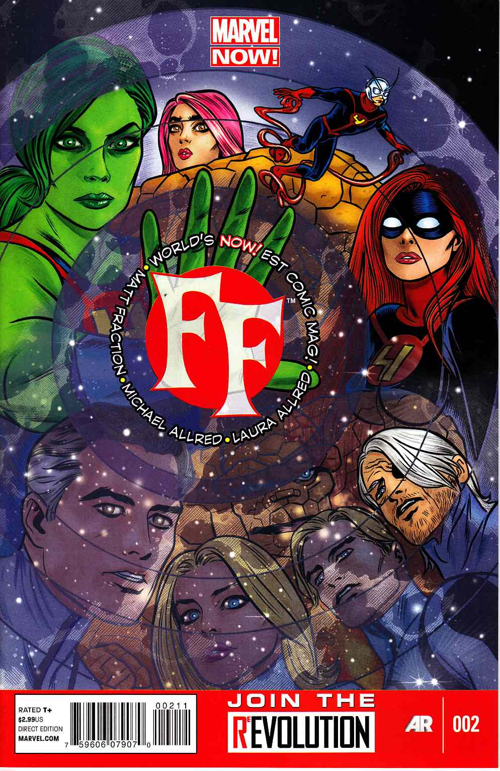FF #2 (Now) [Marvel Comic] THUMBNAIL