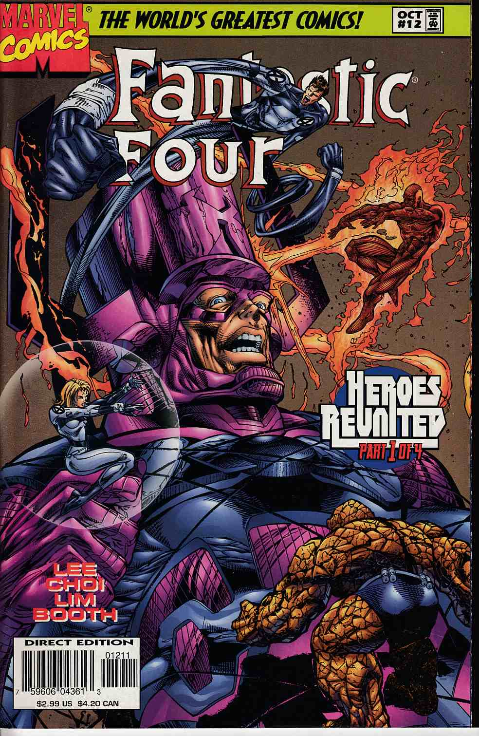 Fantastic Four #12 Very Fine Plus (8.5) [Marvel Comic] THUMBNAIL