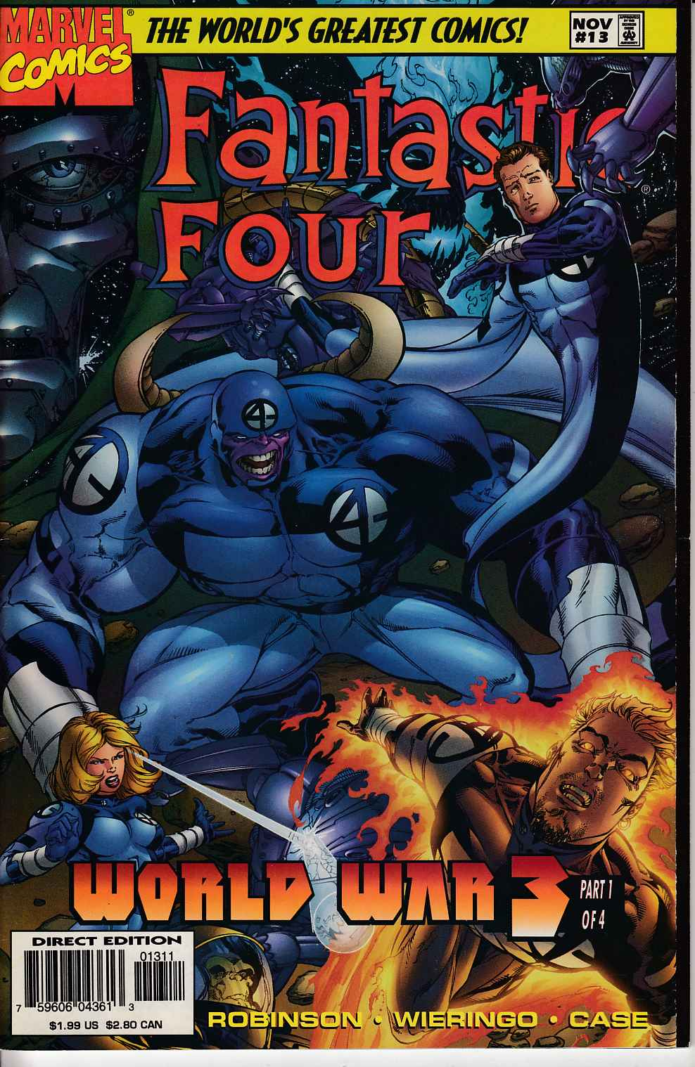 Fantastic Four #13 Very Fine (8.0) [Marvel Comic] THUMBNAIL