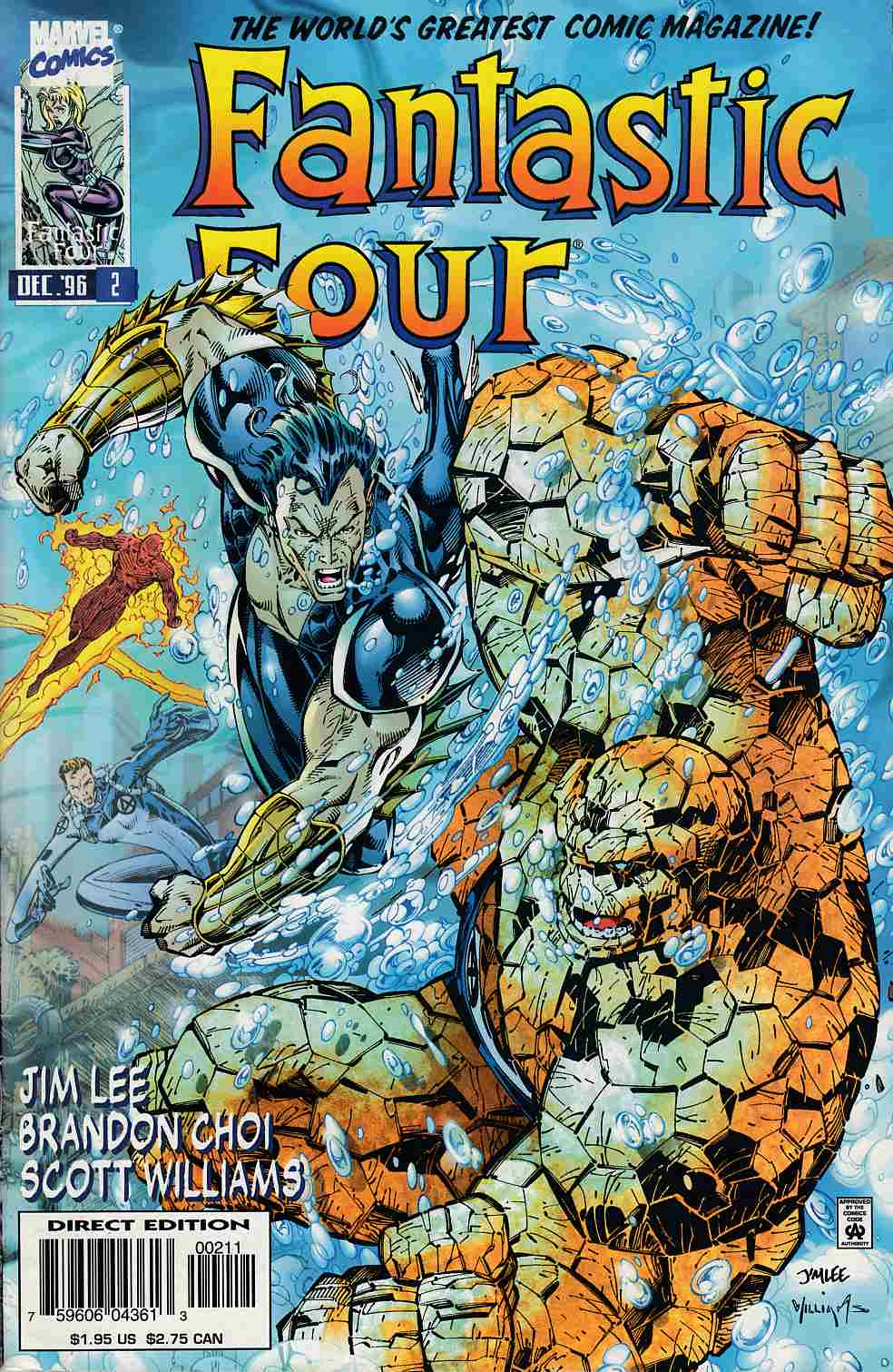 Fantastic Four #2 Very Fine (8.0) [Marvel Comic] THUMBNAIL