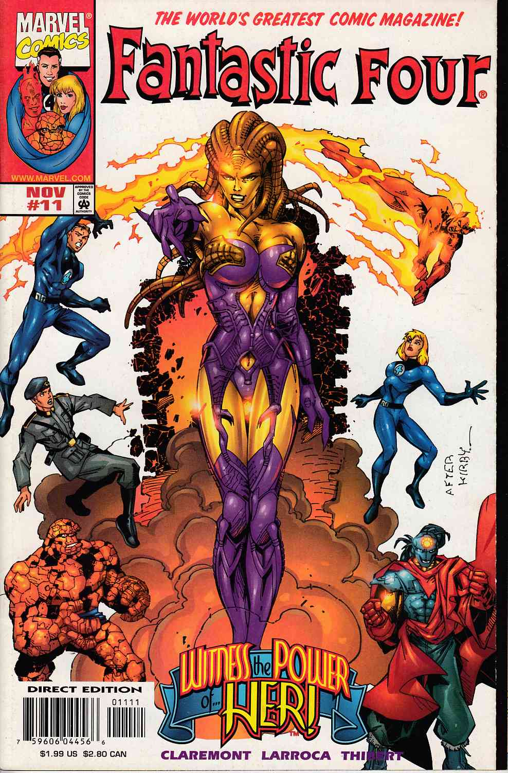 Fantastic Four #11 Near Mint (9.4) [Marvel Comic]_THUMBNAIL