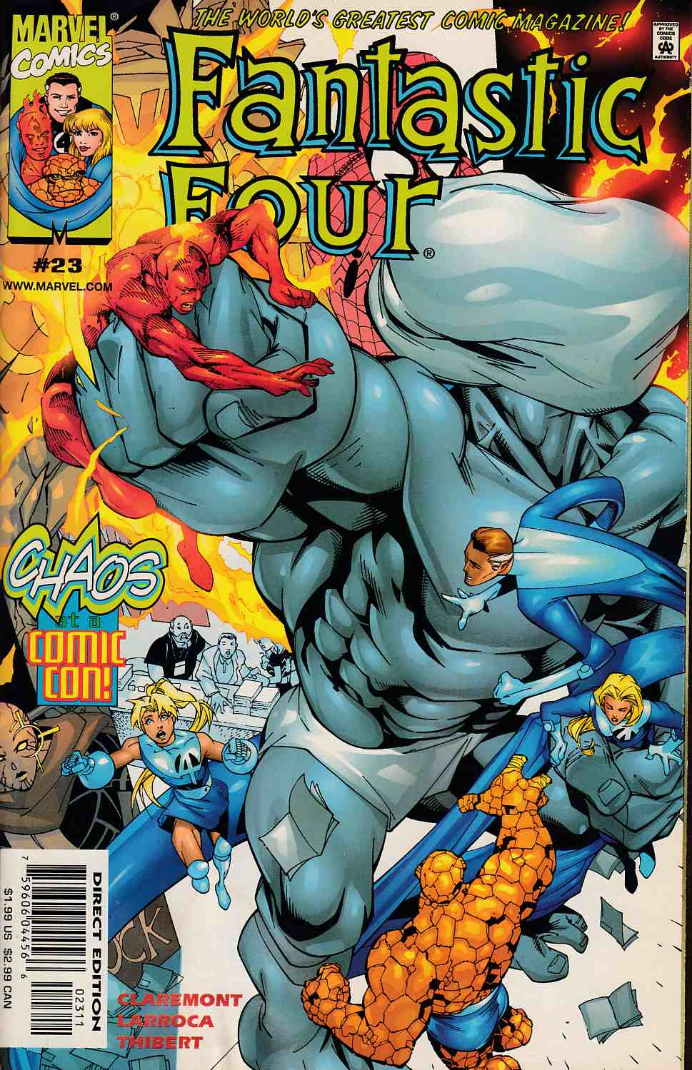 Fantastic Four #23 Near Mint (9.4) [Marvel Comic] THUMBNAIL