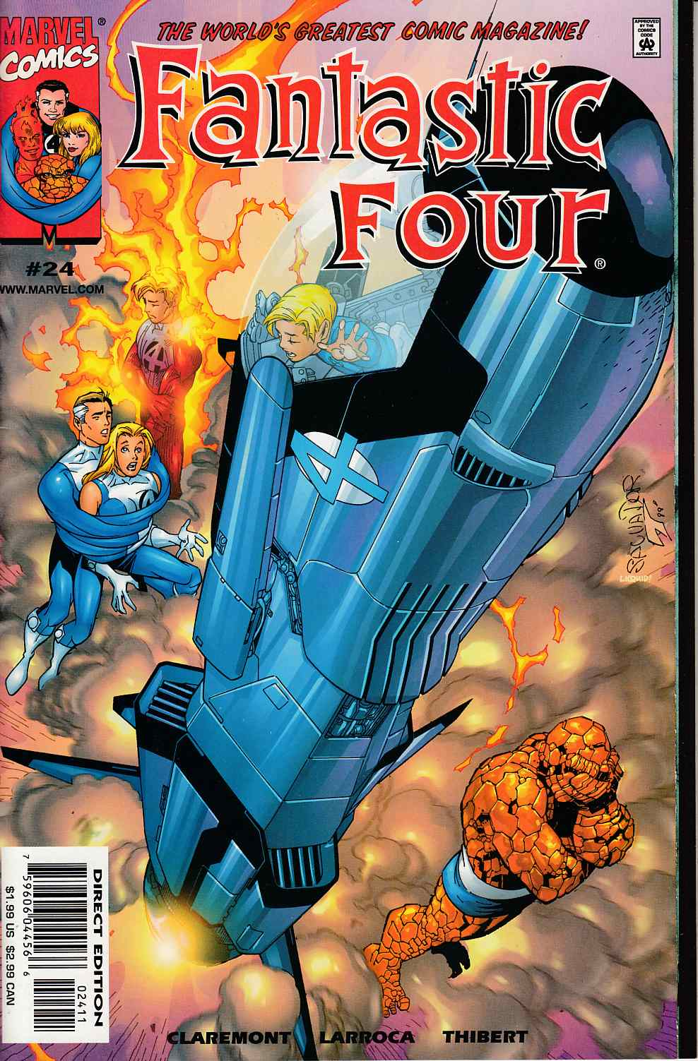 Fantastic Four #24 Near Mint (9.4) [Marvel Comic] THUMBNAIL