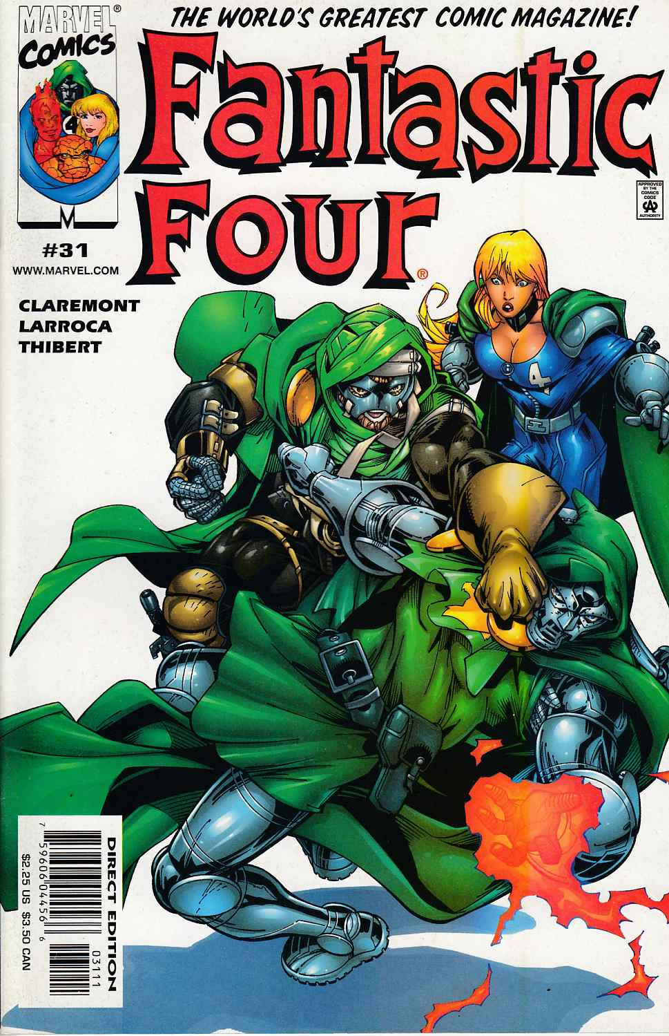 Fantastic Four #31 Near Mint (9.4) [Marvel Comic]_THUMBNAIL