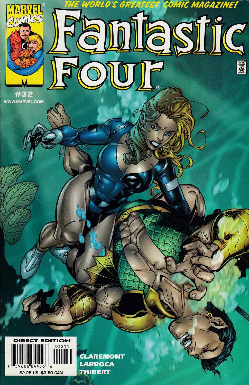 Fantastic Four #32 Near Mint (9.4) [Marvel Comic]_THUMBNAIL