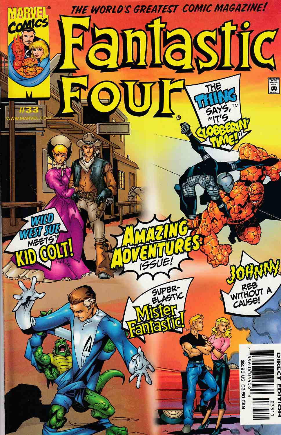 Fantastic Four #33 Near Mint (9.4) [Marvel Comic] THUMBNAIL