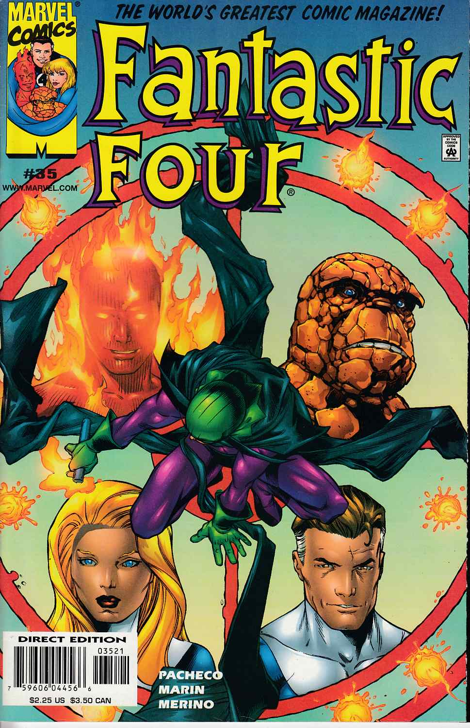 Fantastic Four #35 Very Fine (8.0) [Marvel Comic] LARGE