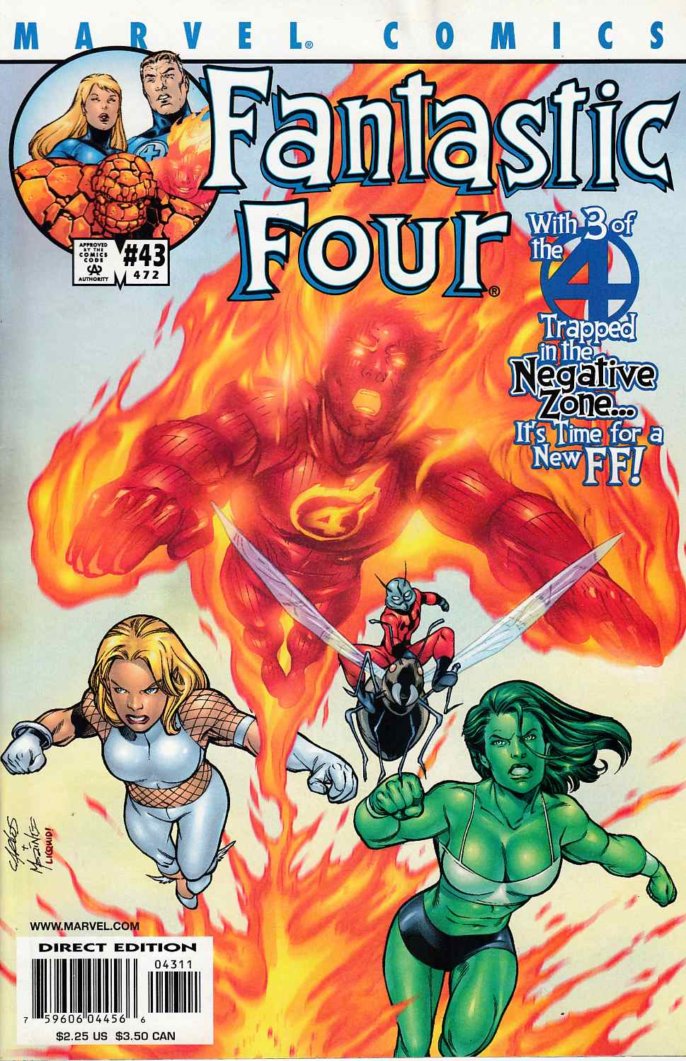Fantastic Four #43 Fine Minus (5.5) [Marvel Comic] LARGE
