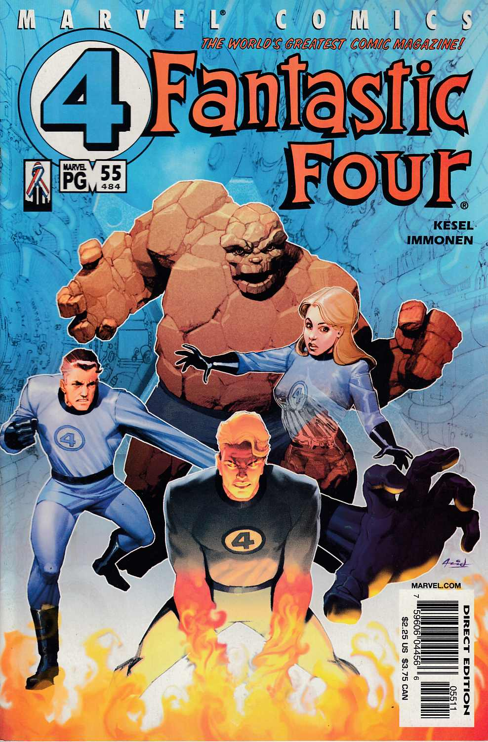 Fantastic Four #55 Near Mint (9.4) [Marvel Comic] LARGE