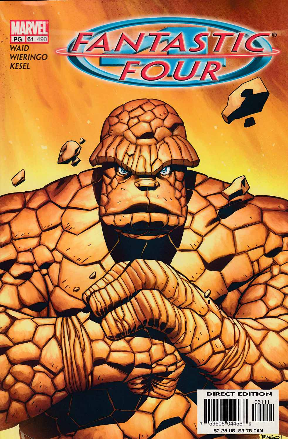 Fantastic Four #61 Fine (6.0) [Marvel Comic] LARGE