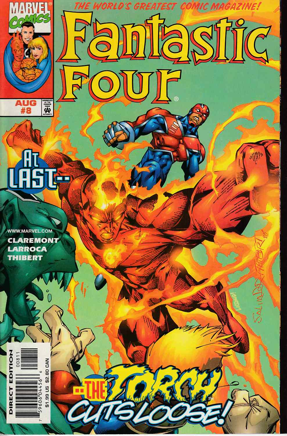 Fantastic Four #8 Near Mint (9.4) [Marvel Comic]_THUMBNAIL