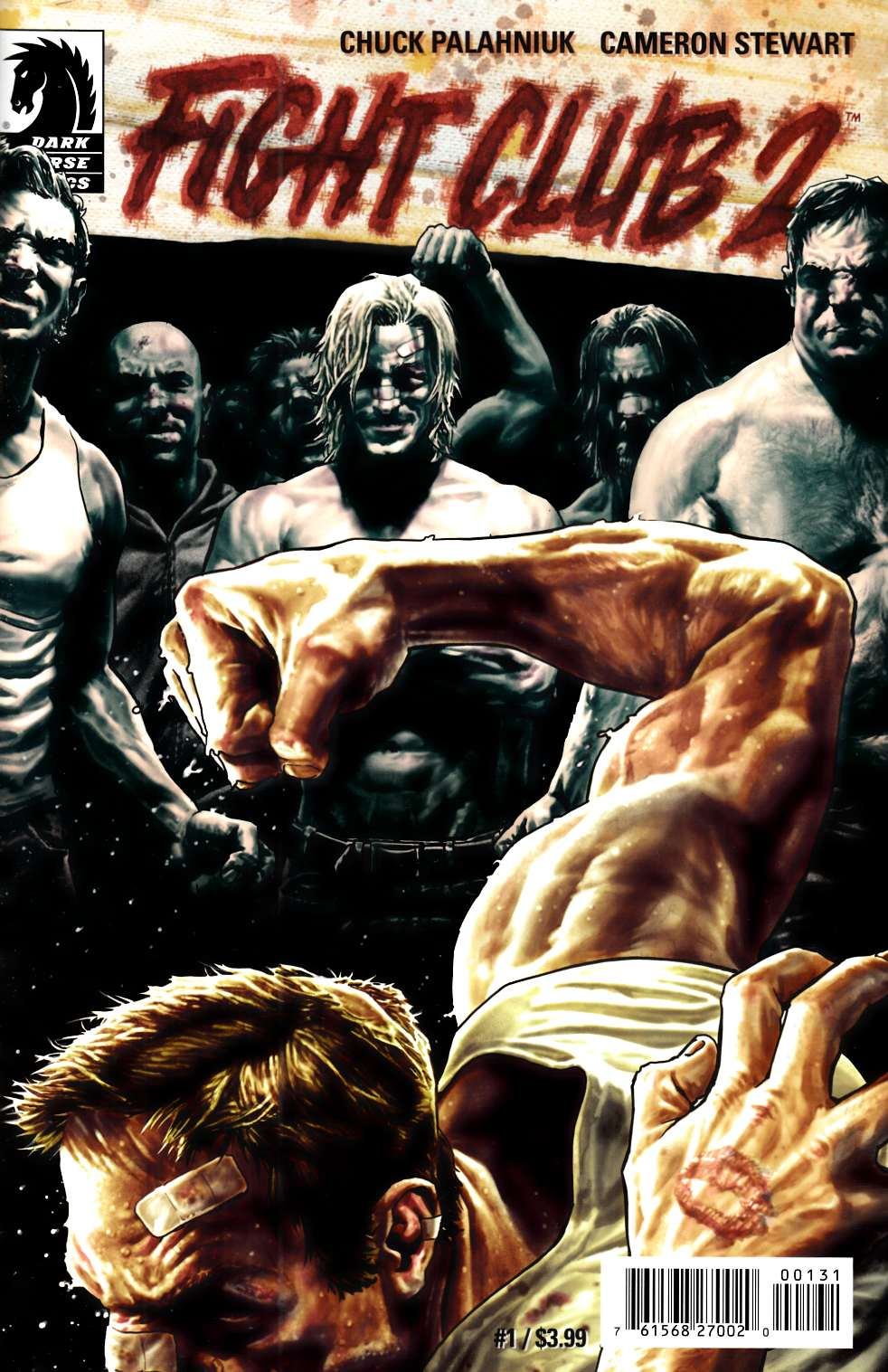 Fight Club 2 #1 Bermejo Ultra Rare Variant Cover [Dark Horse Comic]_THUMBNAIL