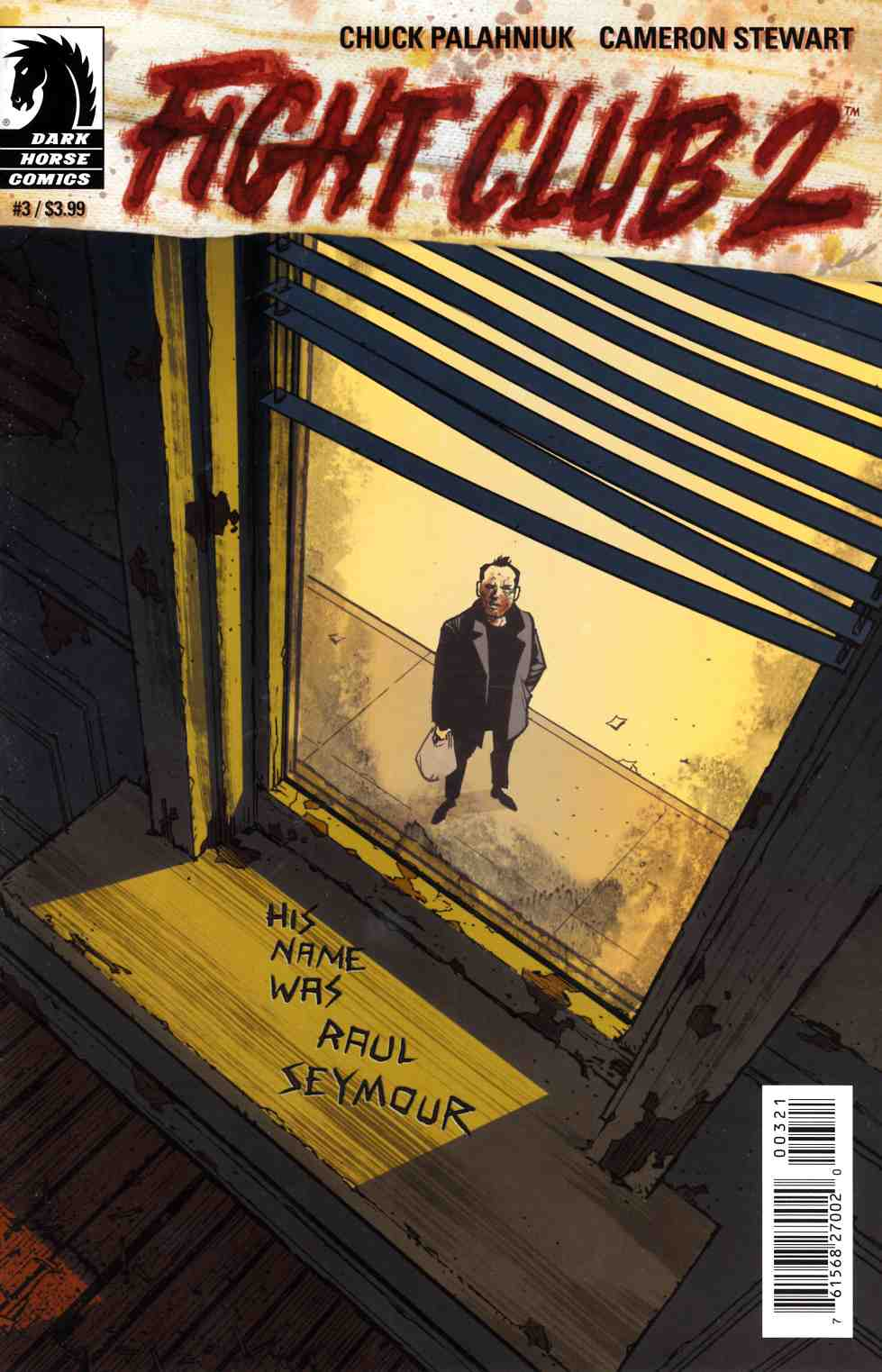 Fight Club 2 #3 Stewart Variant Cover [Dark Horse Comic]_THUMBNAIL