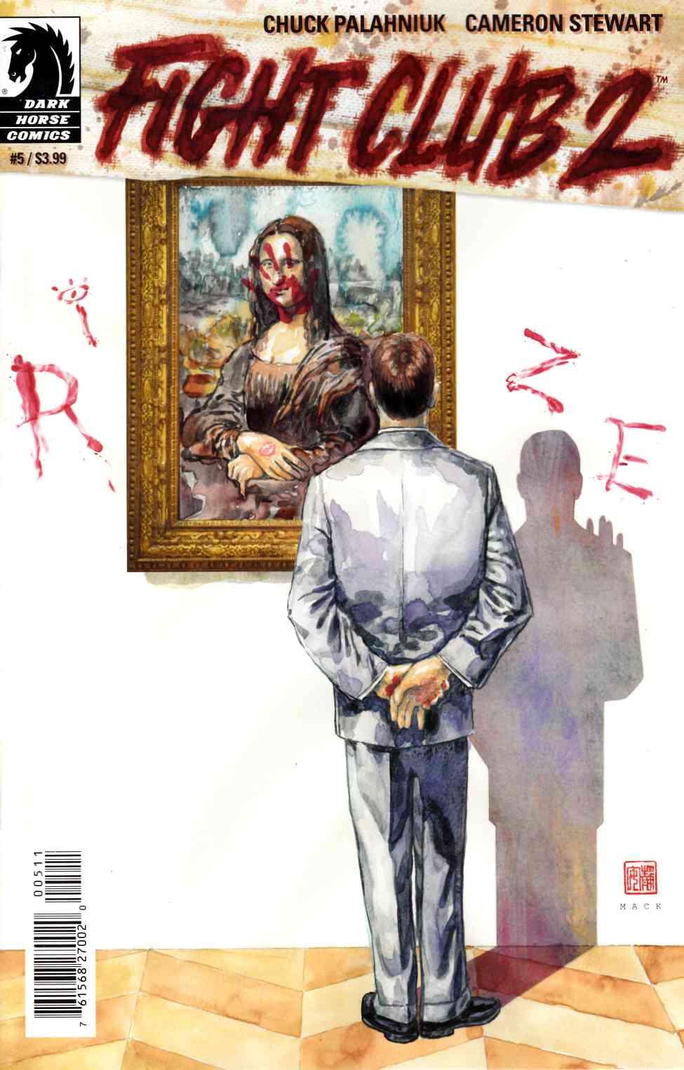 Fight Club 2 #5 Mack Cover [Dark Horse Comic]_THUMBNAIL