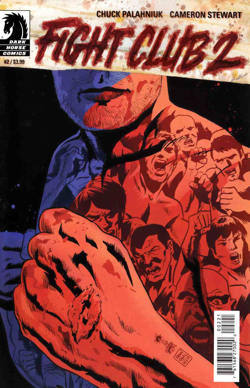 Fight Club 2 #2 Francavilla Variant Cover [Dark Horse Comic] LARGE