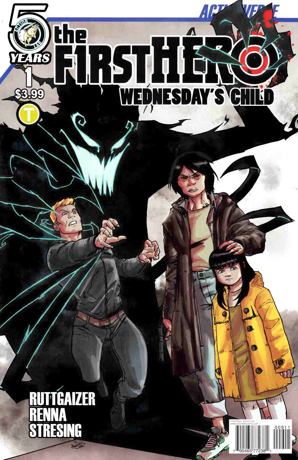 F1Rst Hero Wednesdays Child #1 Cover A [Action Lab Comic] THUMBNAIL
