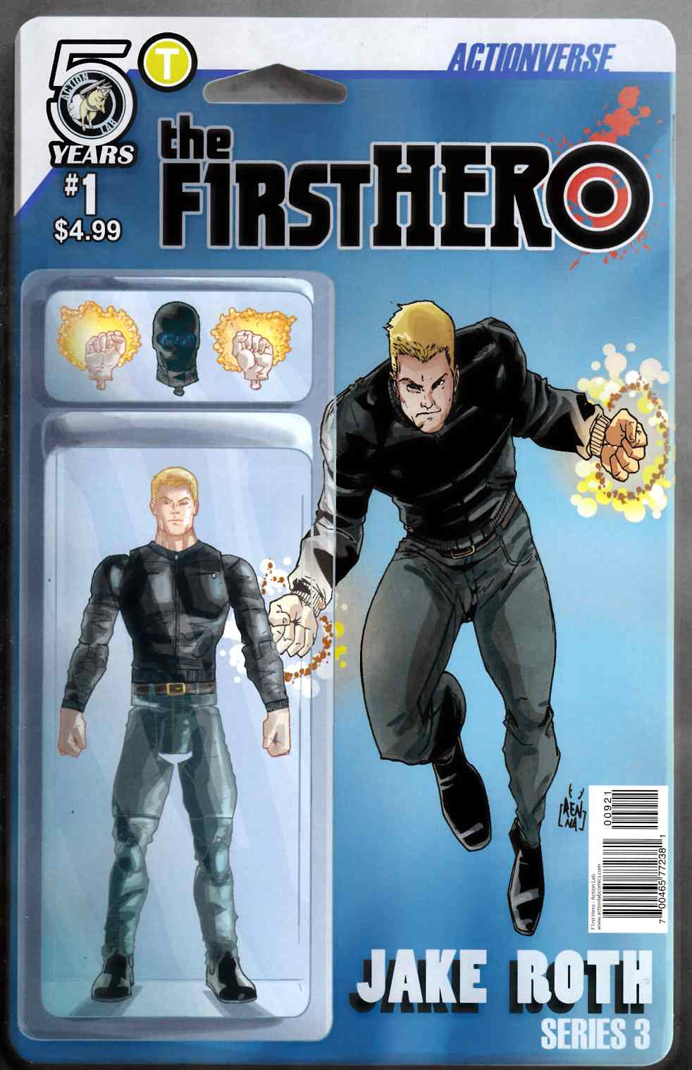 F1Rst Hero Wednesdays Child #1 Cover B [Action Lab Comic] THUMBNAIL