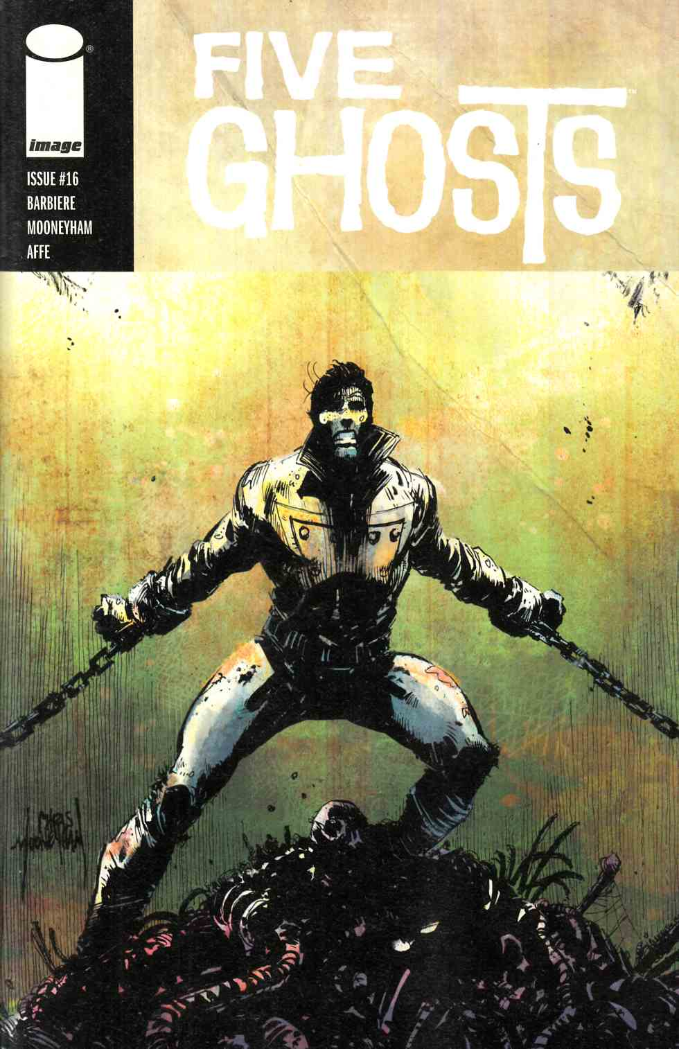 Five Ghosts #16 [Image Comic] THUMBNAIL